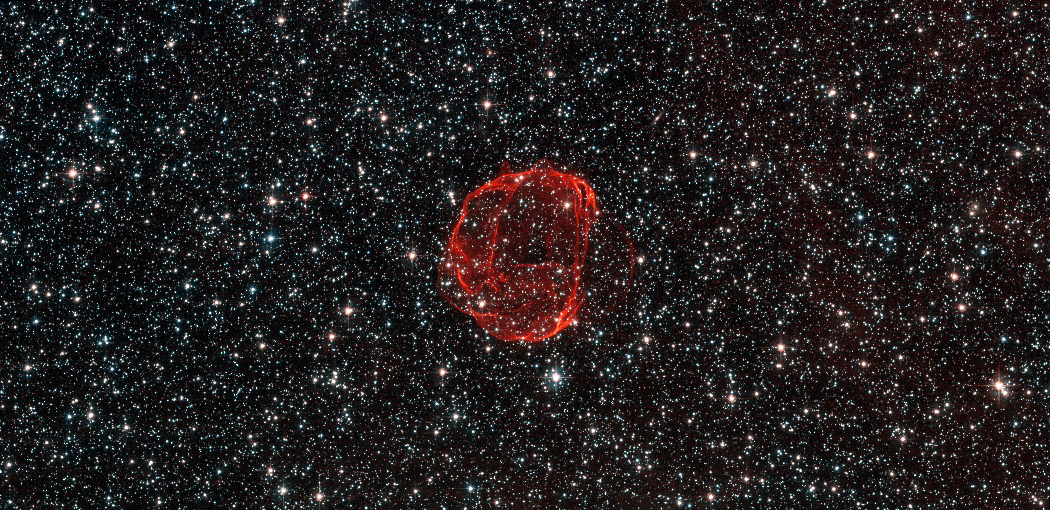 the remains of a star gone supernova 3995 x 1940