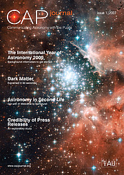 New Journal for astronomy communicators goes live!
