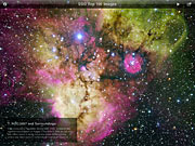 The ESO Top 100 Images iPad App Screenshot