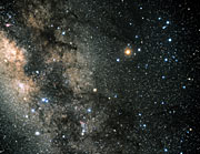 Constellation Scorpius (ground-based image)