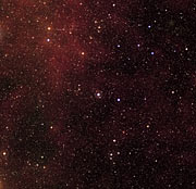 Location of star HD 209458 (ground-based image)