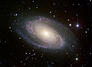 Grand Spiral Messier 81 (ground-based)