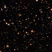 Hubble's near-infrared camera digs for galactic gold
