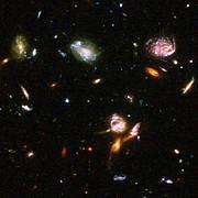 Hubble reveals galactic drama [image 1]