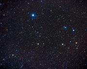 Constellation Corvus (ground-based image)