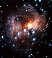 Spectacular view of V838 Monocerotis light echo