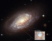 Supernova in NGC 2397