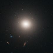 NGC 4458 in the Virgo cluster of galaxies