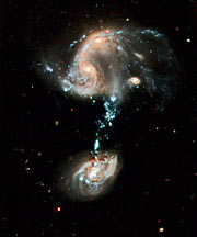 Hubble celebrates 19th anniversary with fountain of youth