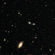 Early galaxies in HUDF WFC3/IR, close up 2
