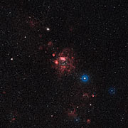Overview of the Large Magellanic Cloud (annotated)