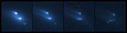 Asteroid P/2013 R3 breaks apart