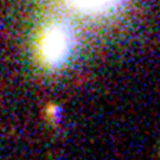 One of three magnified images of a distant galaxy (3)