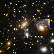 Galaxy cluster MACS j1149.5+223 and a supernova four times over