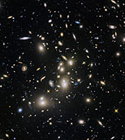 Hubble Frontier Fields view of Abell 2744