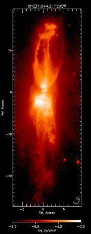 OH231.8+4.2 - Rotten Egg Nebula