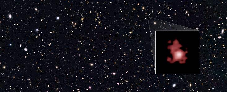 Hubble billedet af GN-z11