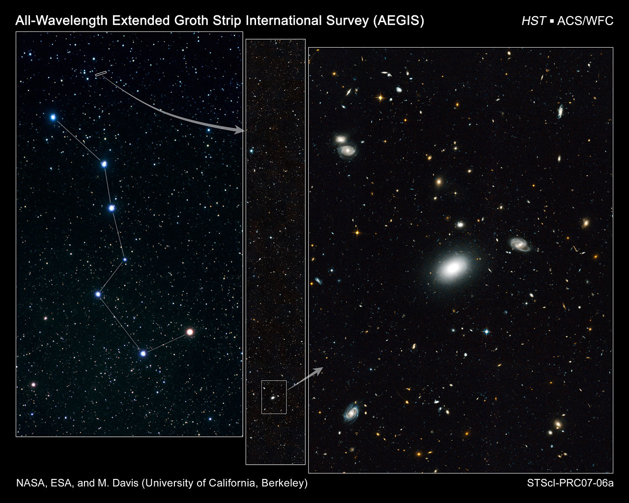 Hubble pans across heavens to harvest 50,000 evolving galaxies