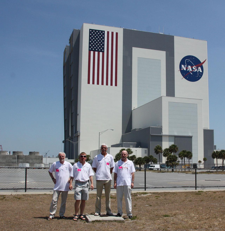 ESA HST team at Kennedy Space Center