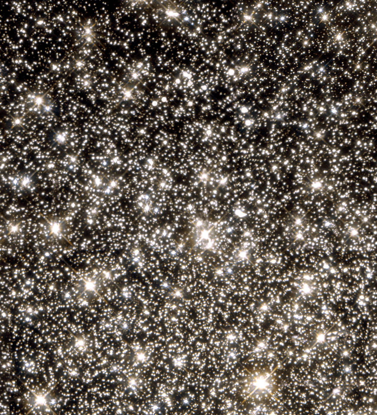 Hint of planet-sized drifters bewilders Hubble scientists (WFPC2 view)