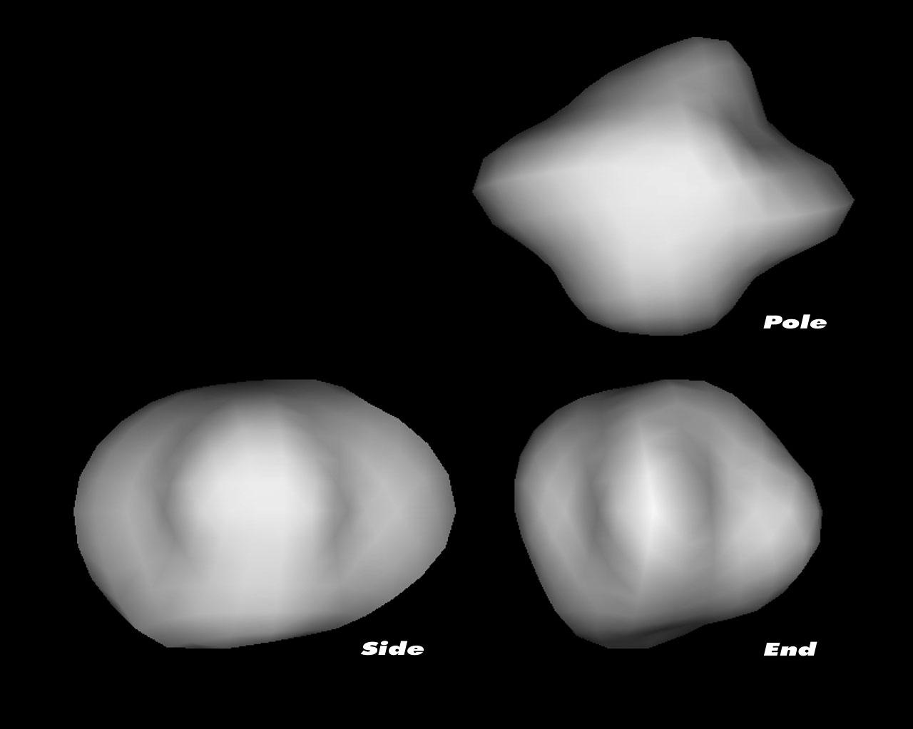 3-D models of comet 67P/Churyumov-Gerasimenko's nucleus