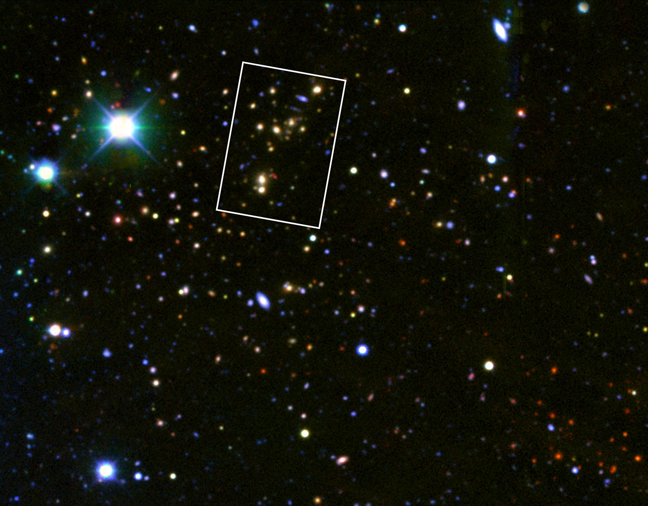 mega starbirth cluster is biggest brightest and hottest
