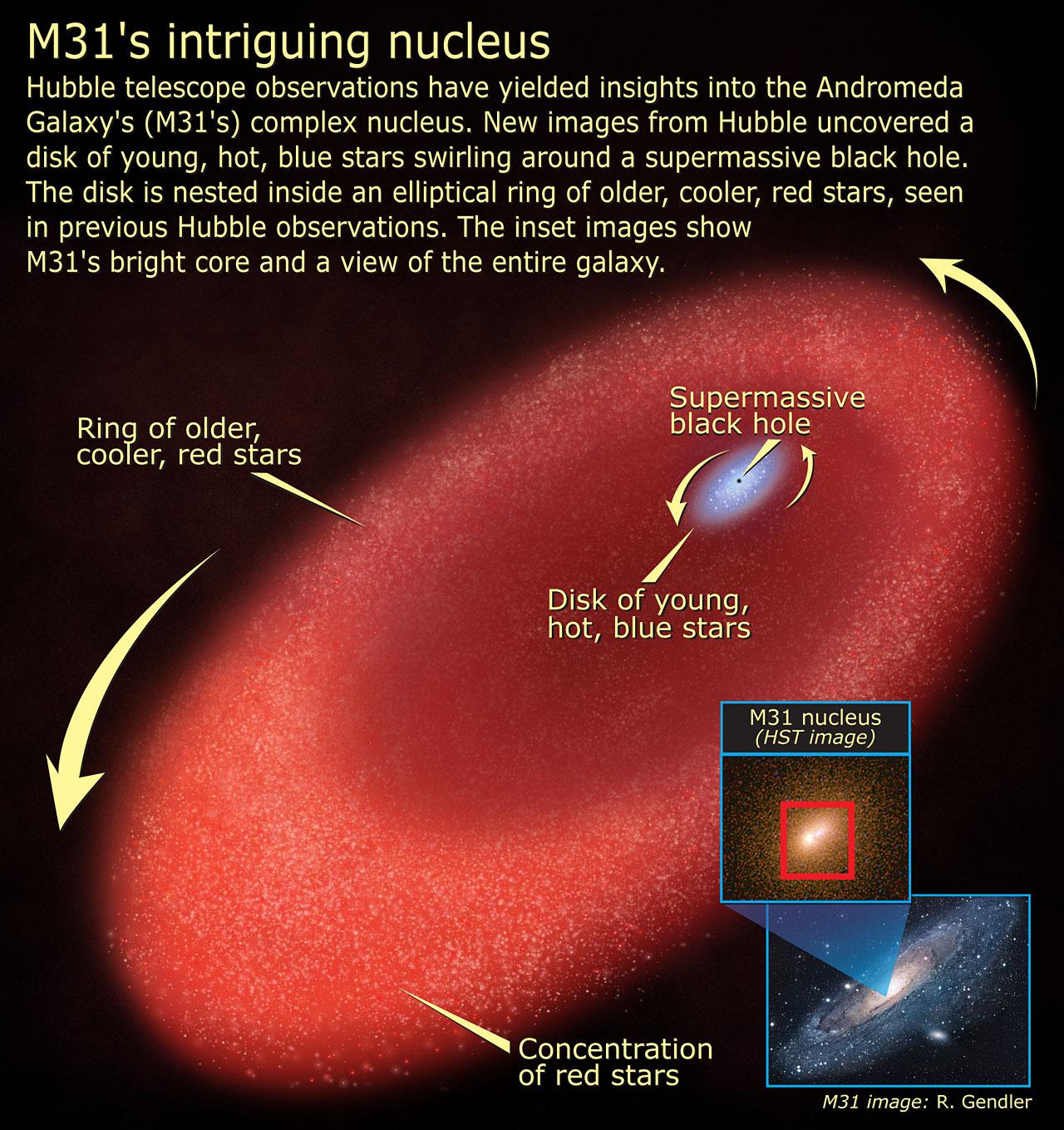 M31's intriguing nucleus