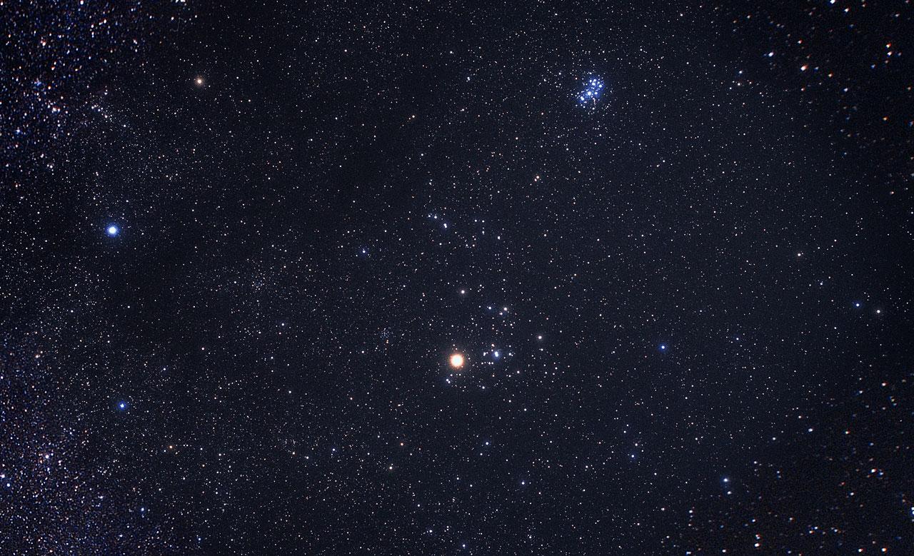 Constellation Taurus (ground-based image)