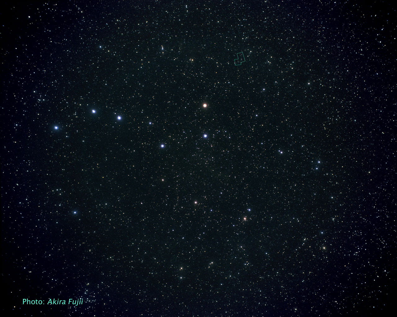 The Ursa Major constellation (ground-based image)
