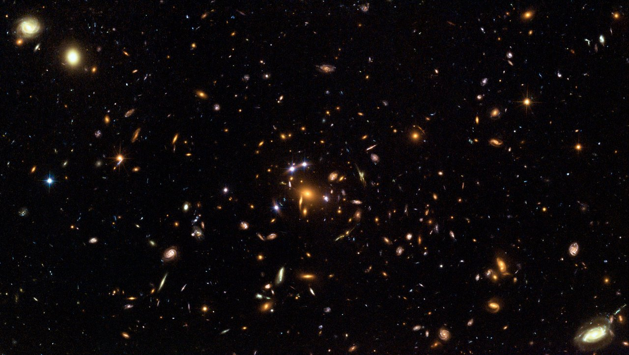 Hubble captures a