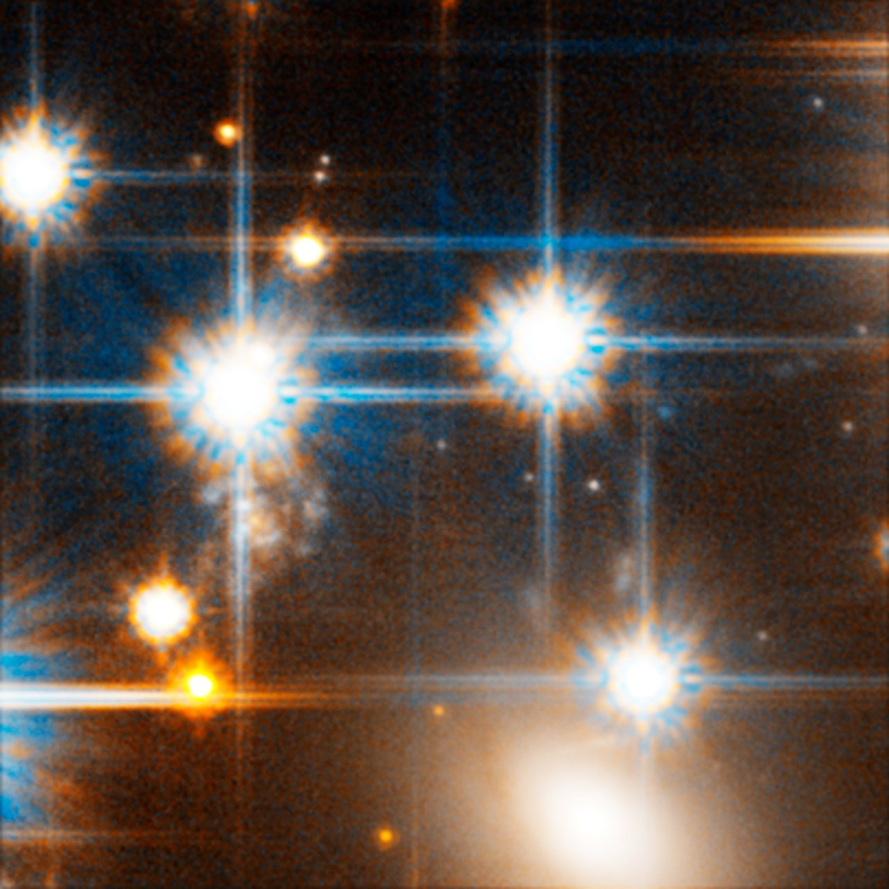 Faint White Dwarf Star in Globular Cluster NGC 6397