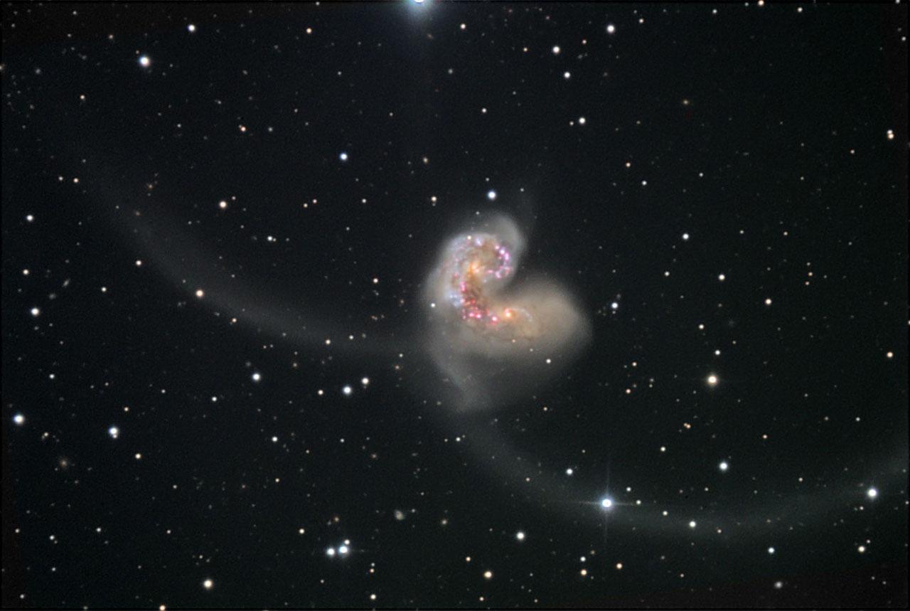 hubble telescope galaxies colliding - photo #15