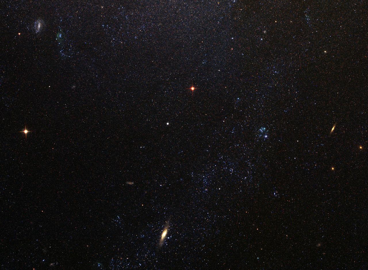 Spiral Galaxy M81 Details 6