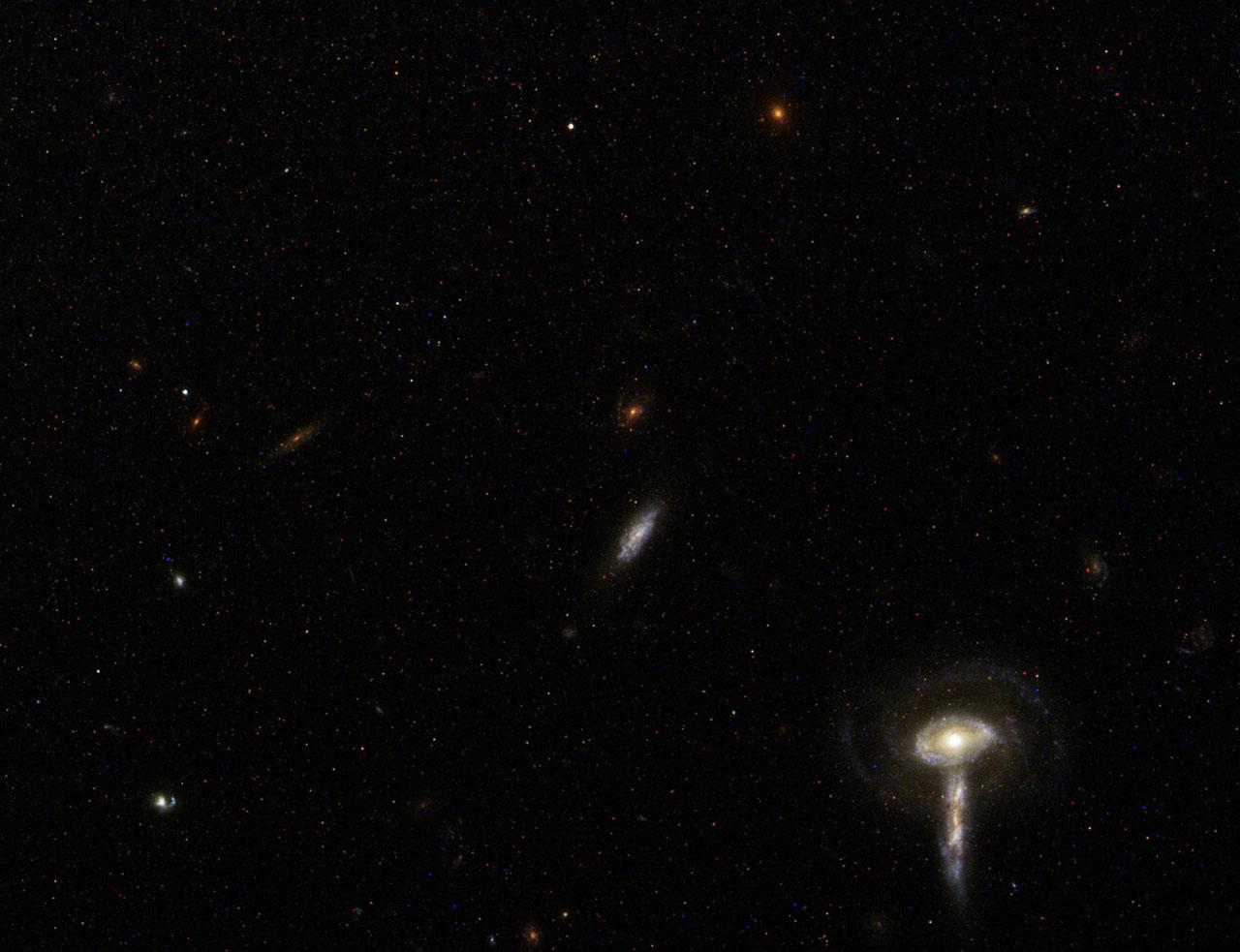 Spiral Galaxy M81 Details 7