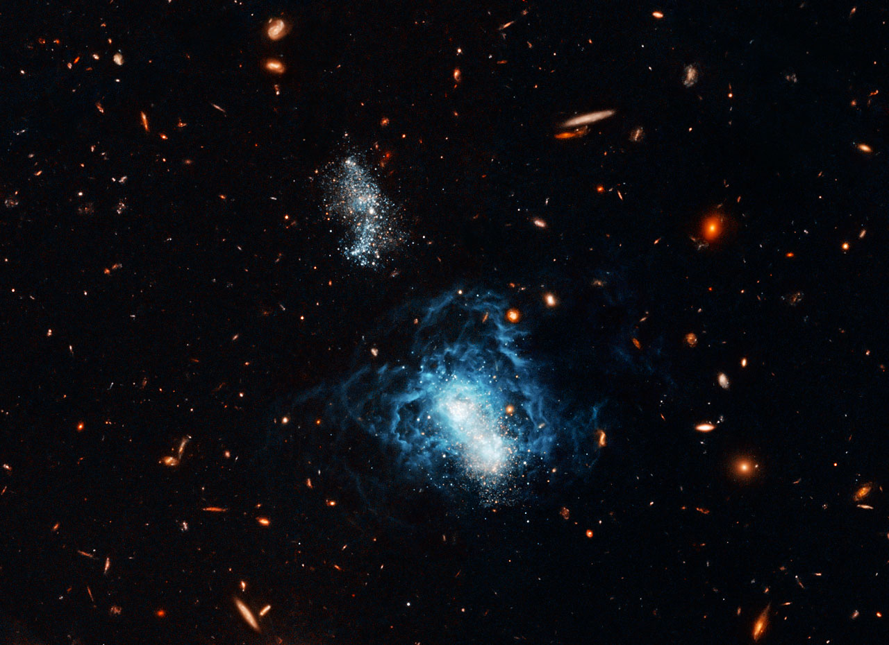 Hubble Finds Mature Galaxy Masquerading as Toddler