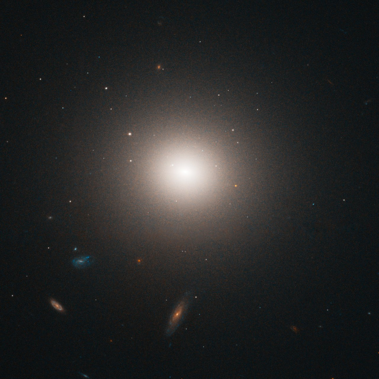 NGC 4458 in the Virgo cluster of galaxies