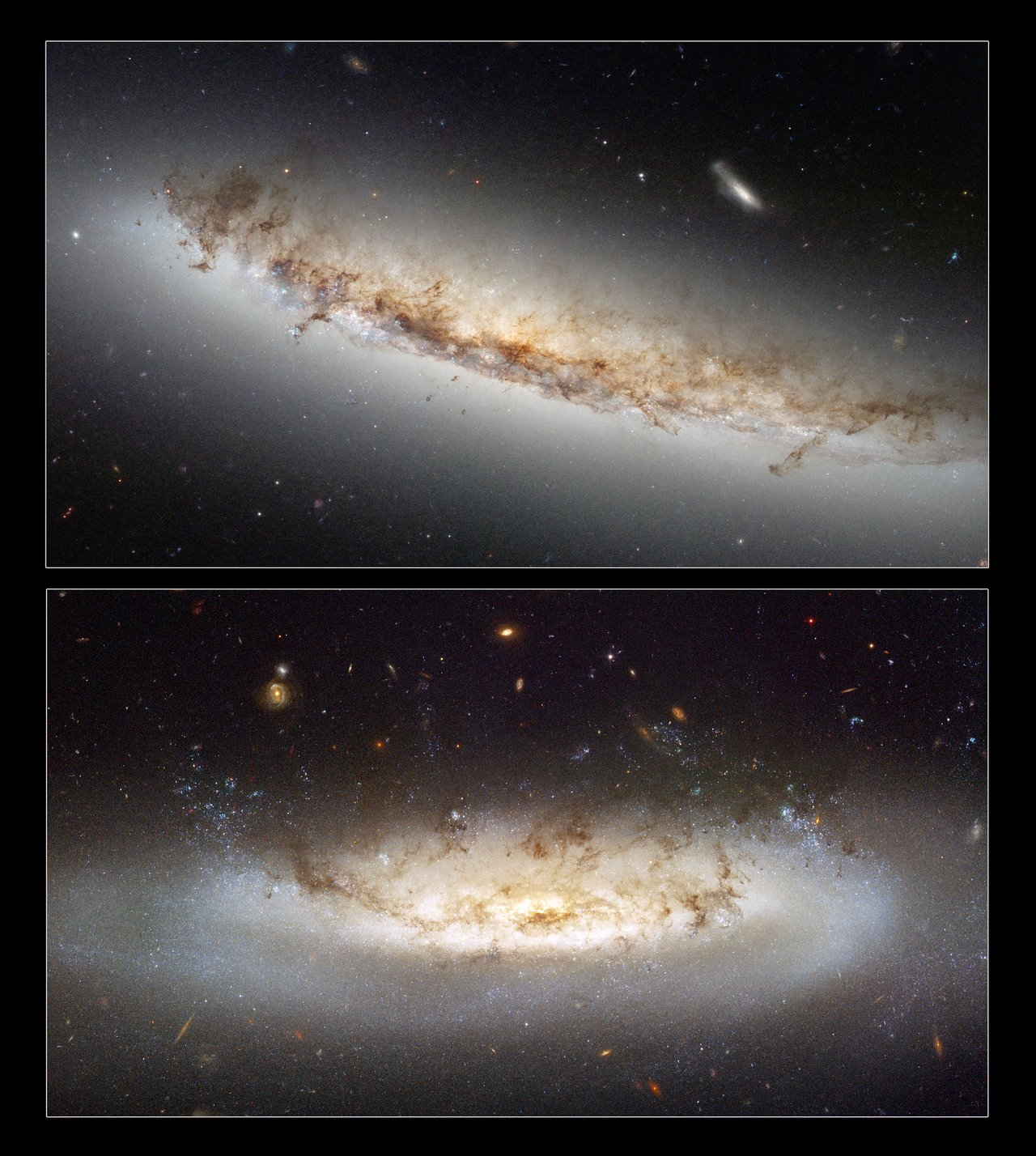 Ram pressure stripping galaxies NGC 4522 and NGC 4402
