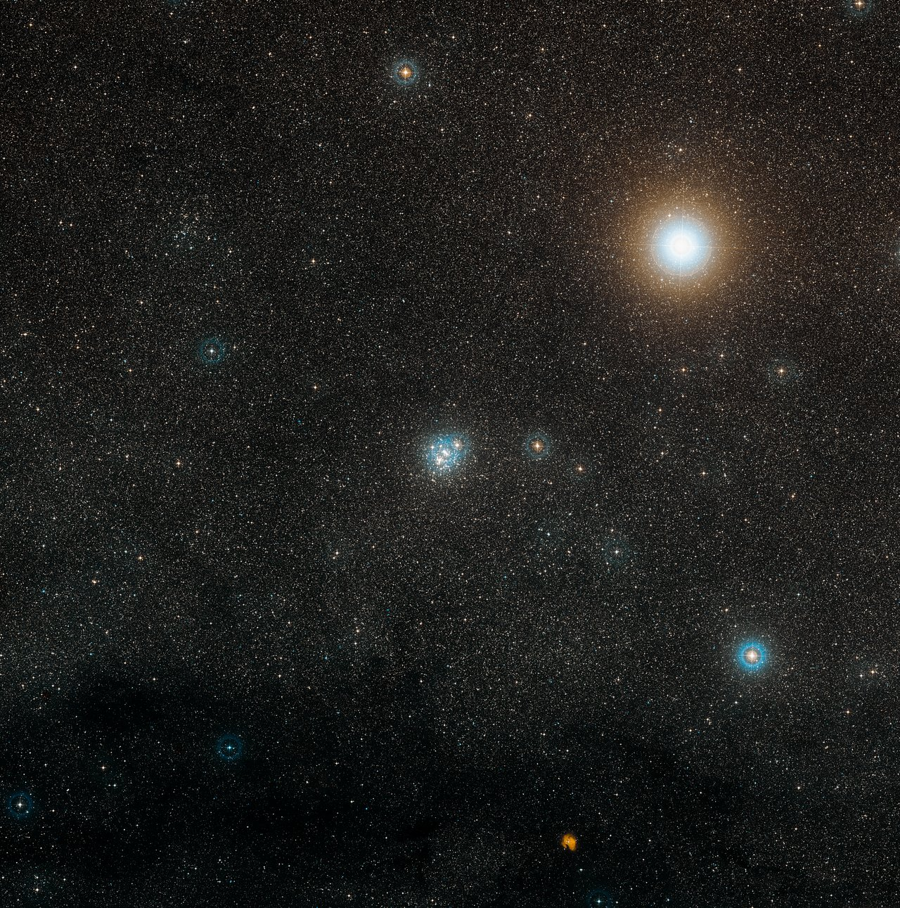 Digitized Sky Survey Image of NGC 4755 (ground-based image)