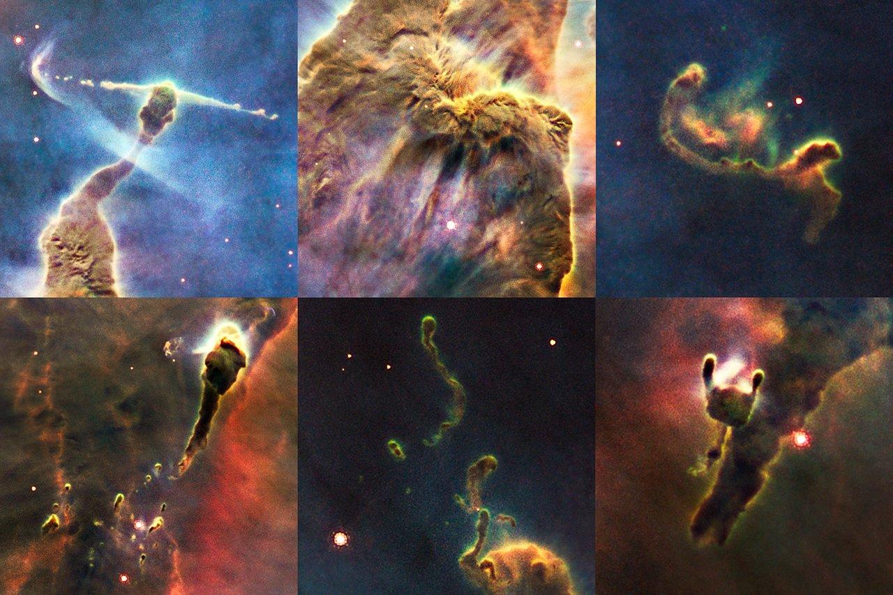 Details in a cosmic pinnacle