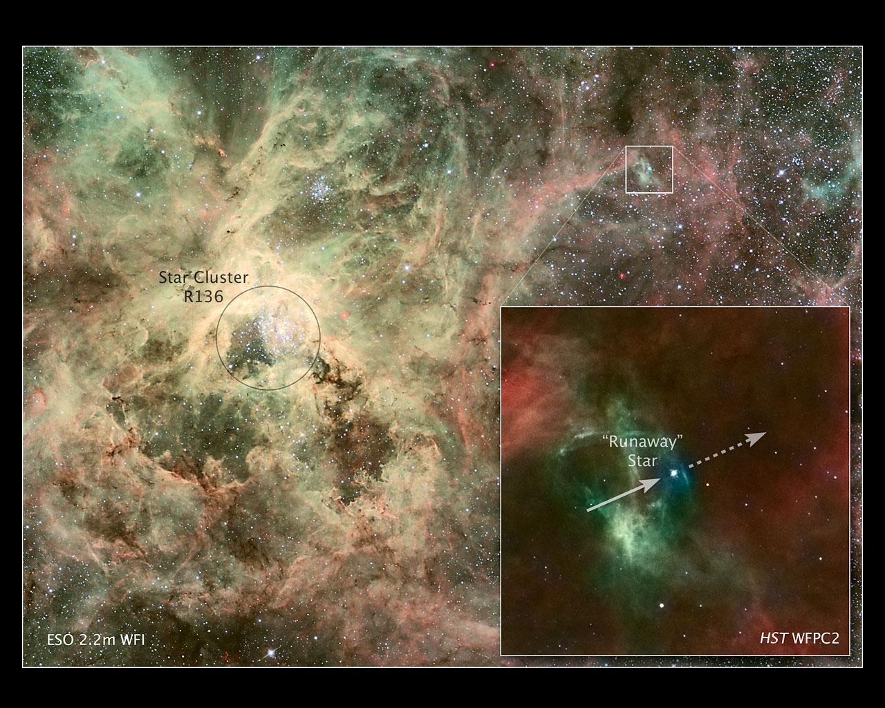 Astronomers nab runaway star