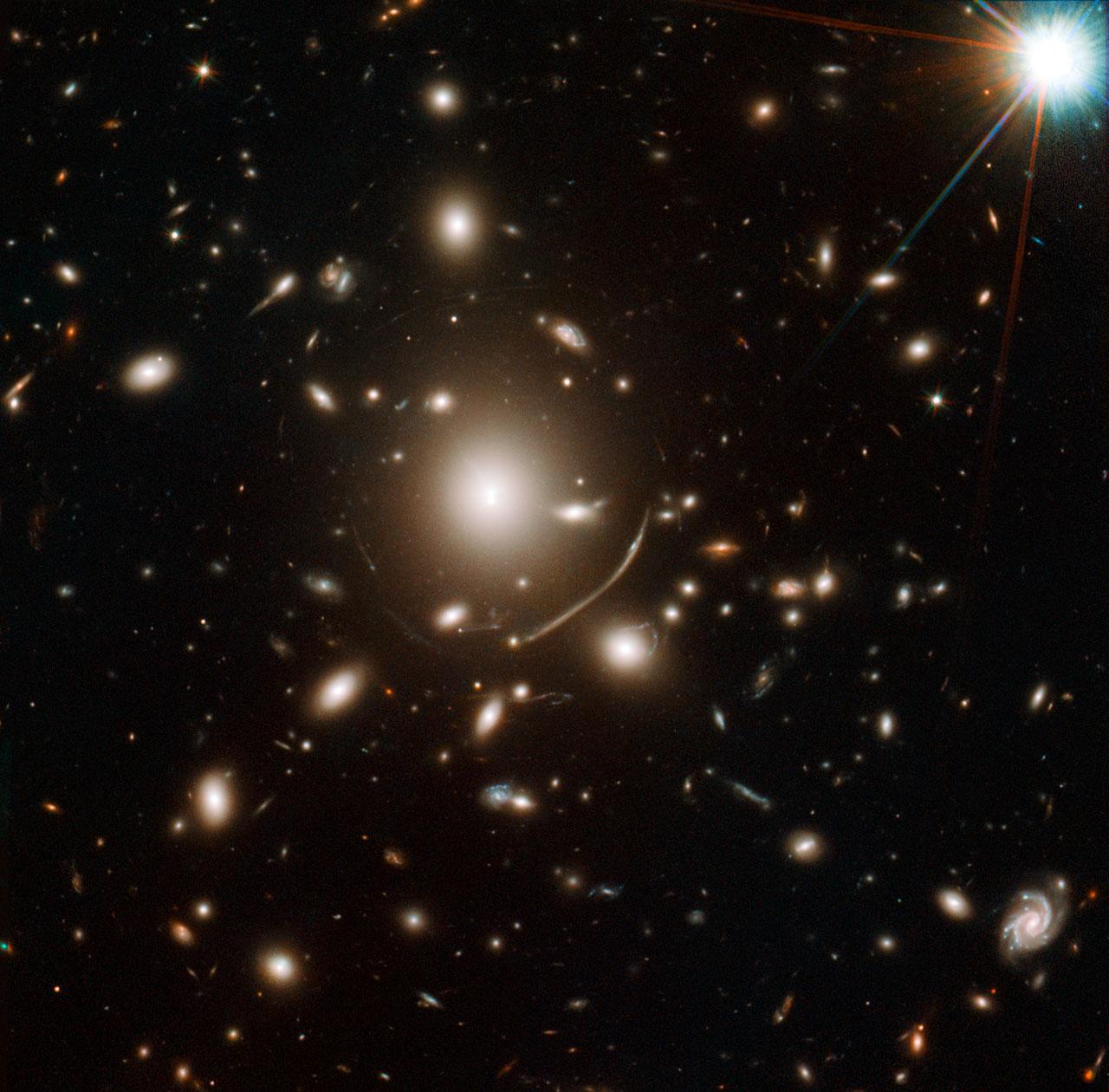Lensing cluster Abell 383