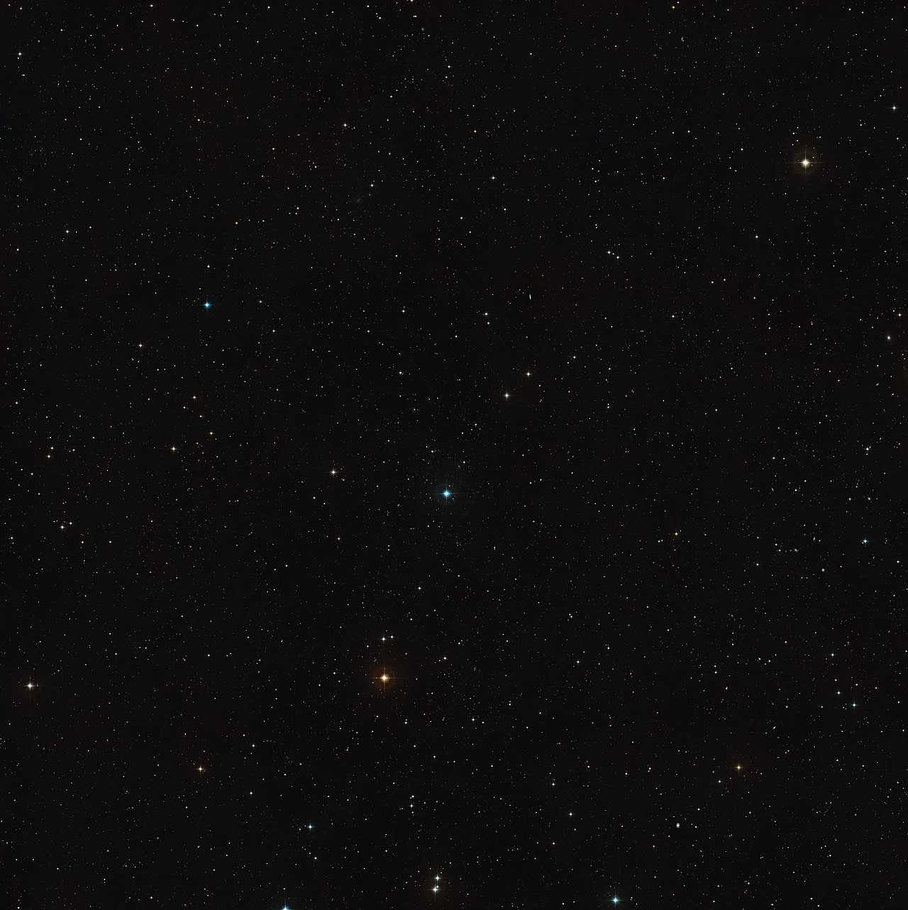 Wide field view of Abell 383 (ground-based image)