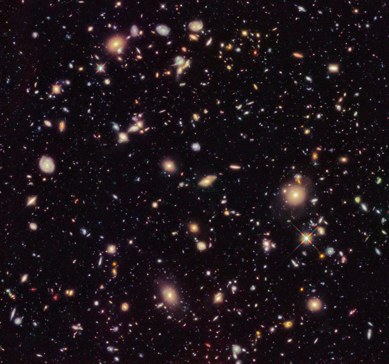 The Hubble Ultra Deep Field 2012
