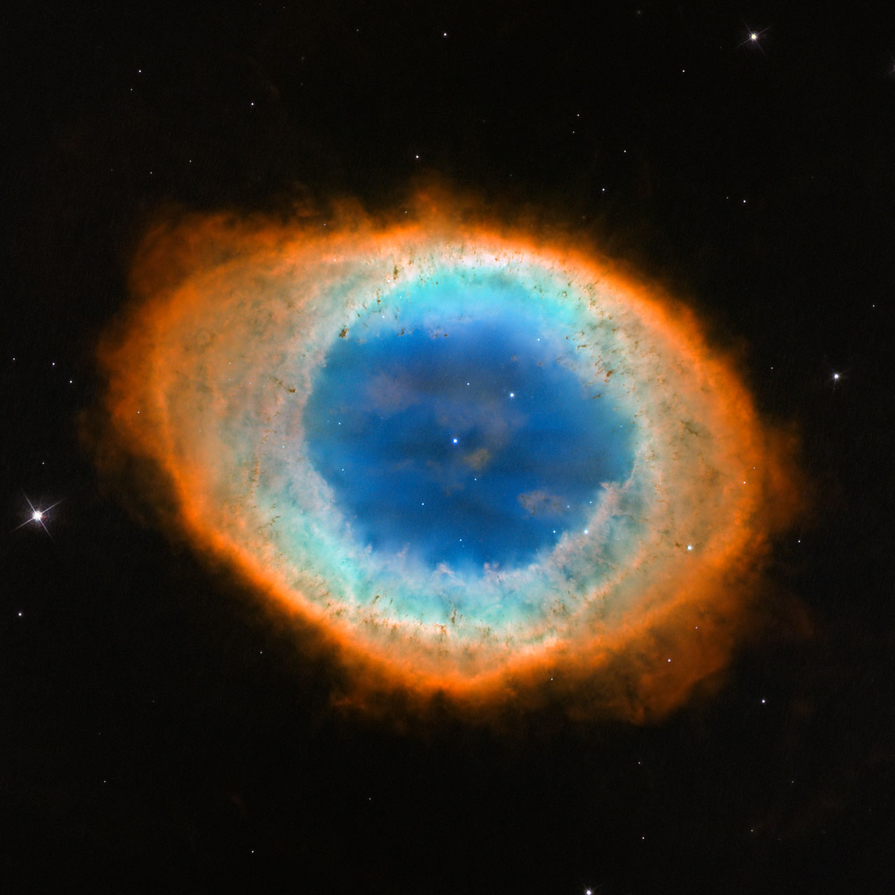 Hubble image of the Ring Nebula (Messier 57)