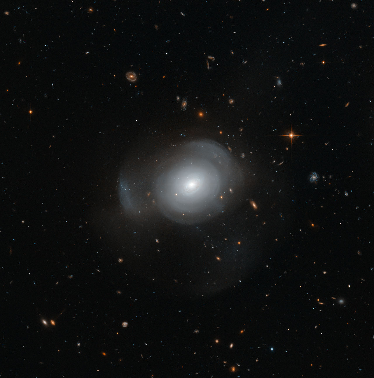 Hubble image of PGC 6240