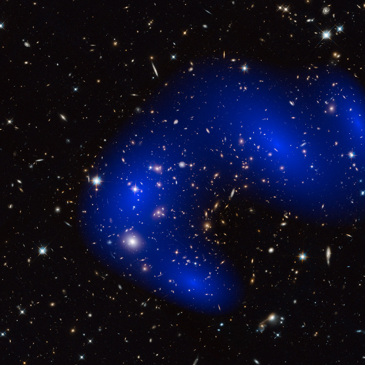 Dark Matter Even Darker Than Once Thought