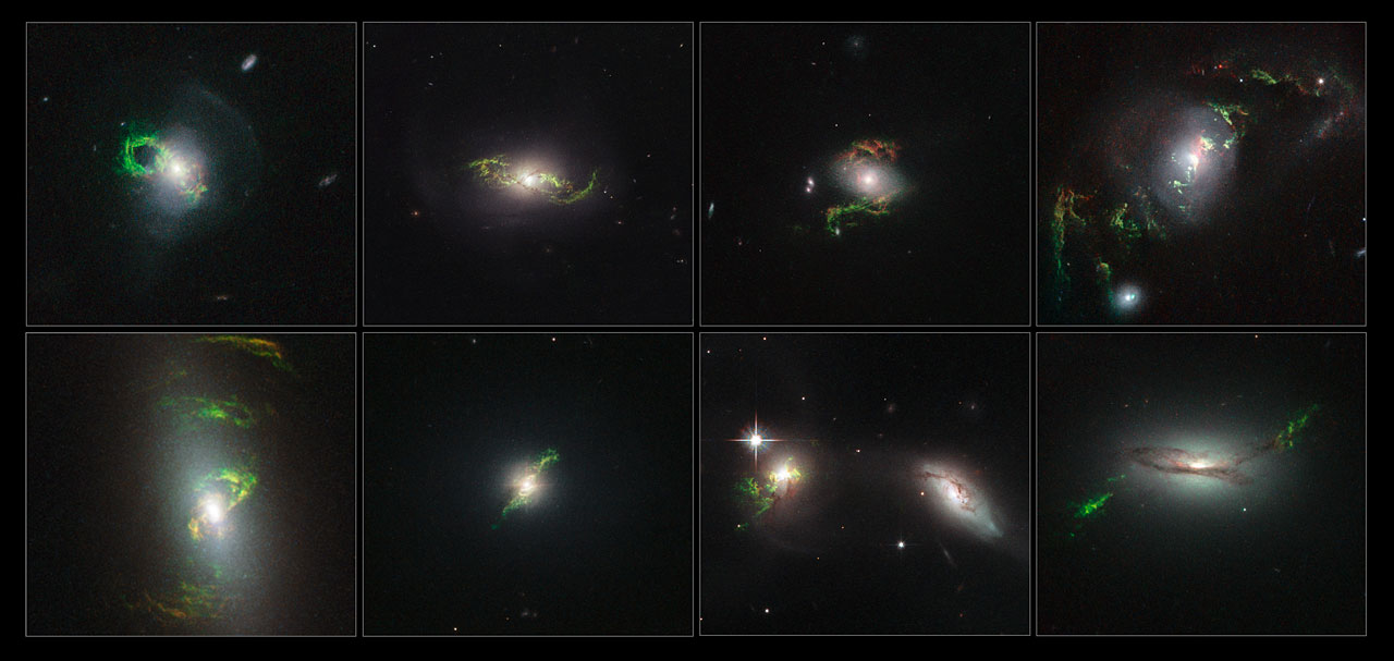 Photo Release: Hubble finds ghosts of quasars past