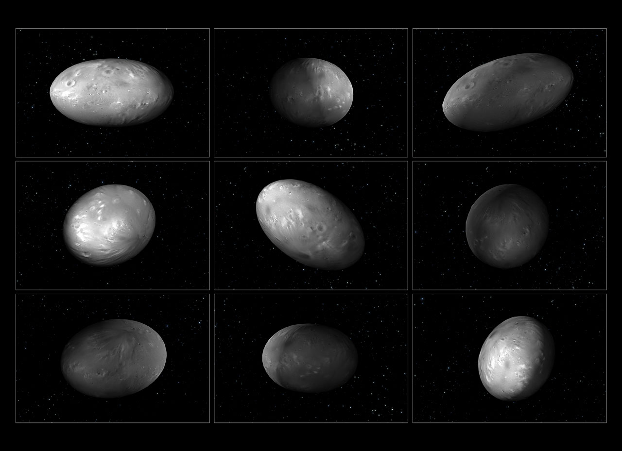 The chaotic spin of Pluto's moon Nix