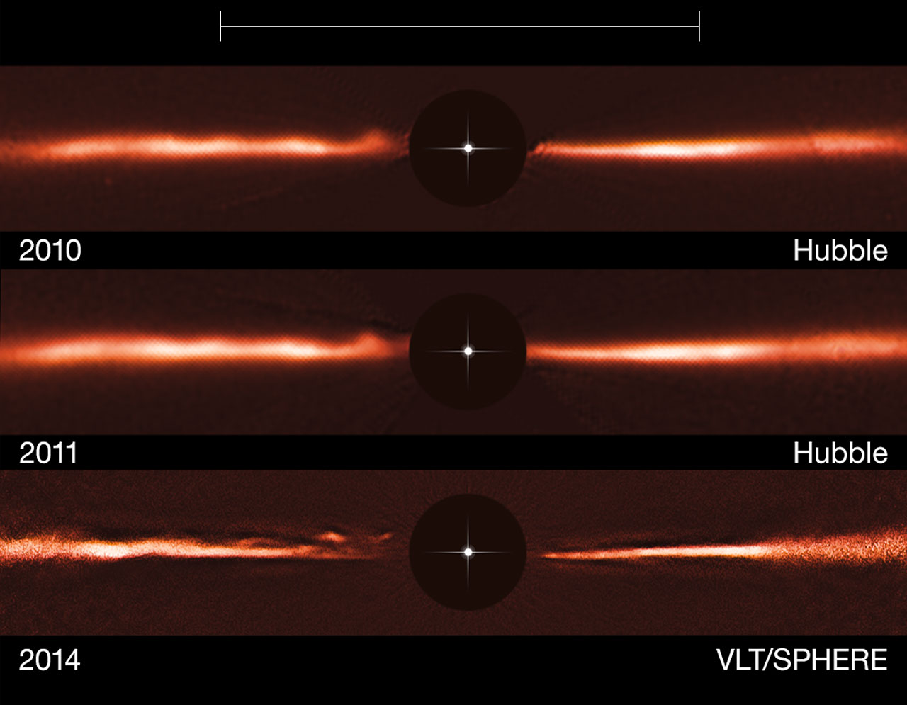 Science Release: Mysterious Ripples Found Racing Through Planet-forming Disc