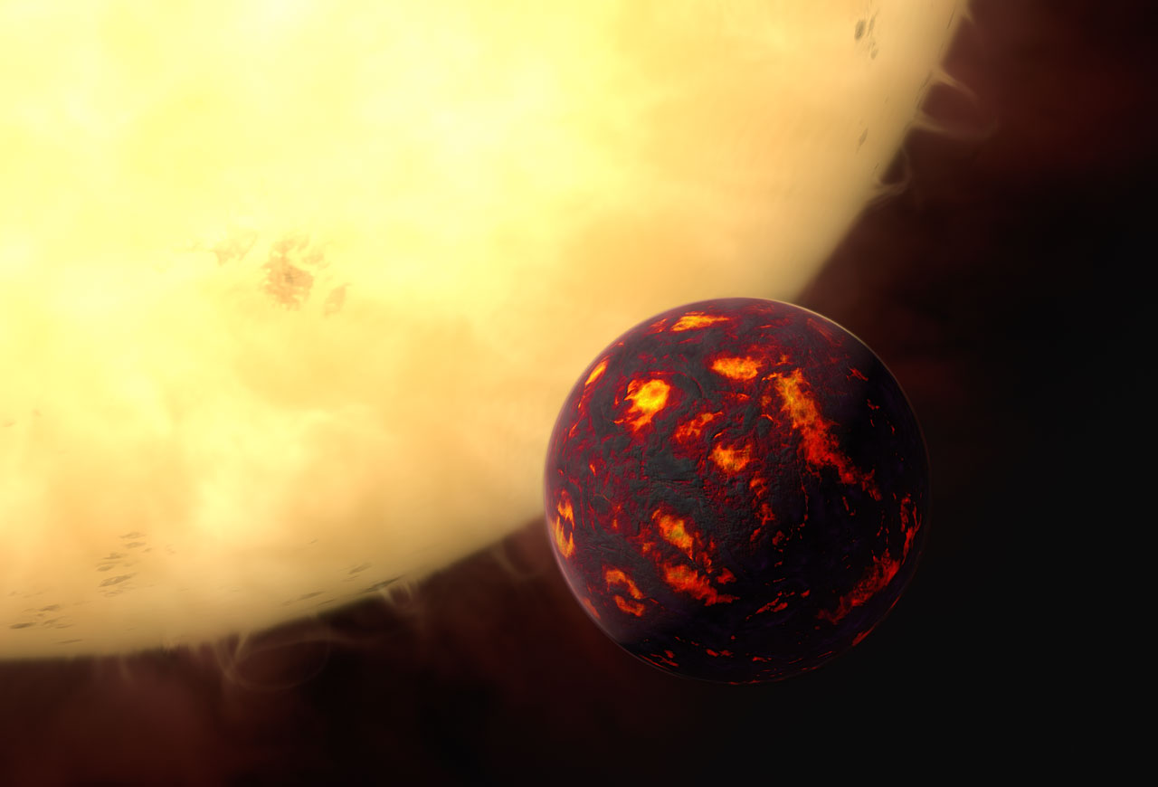 Science Release: First Detection of Super-Earth Atmosphere